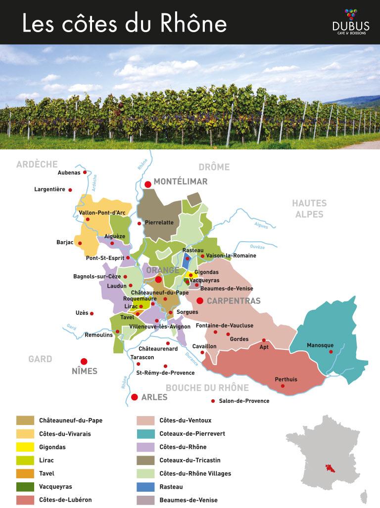 Côtes du Rhônes