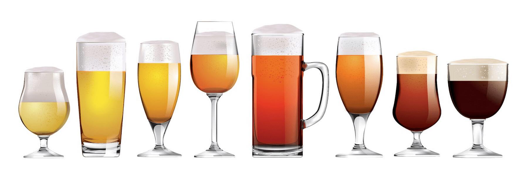 Verres à bières